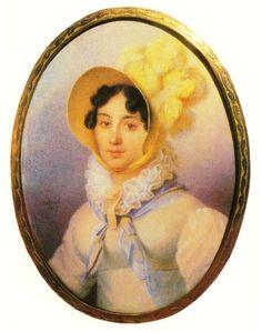 Варвара Алексеевна Репнина, ур.гр. Разумовская (1778—1864), с 1802 года жена кн. Николая Григорьевича Репнина-Волконского (1778—1845).