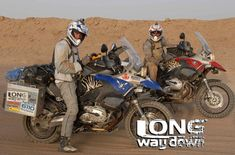 Ewan McGregor & Charlie Boorman's BMW R1200 GS Adventures from Long Way Down