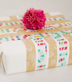 Easy, creative ways to wrap a gift — SO much better than store-bought paper
