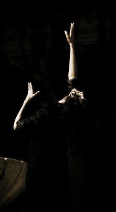 Butoh in the Silence. Anika Burton Dancer