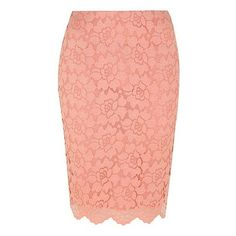 George Lace Layer Pencil Skirt ($18) ❤ liked on Polyvore featuring skirts, lace pencil skirts, fitted pencil skirt, multi layered skirt, formal skirts and elastic waist skirt