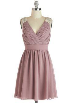 A Mauve-elous Occasion Dress, #ModCloth WANT FOR WINTER FORMAL.