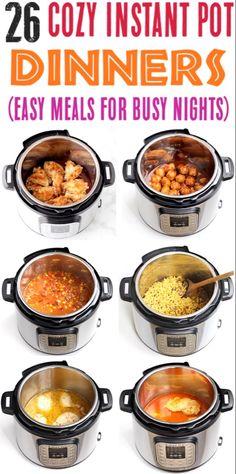Best Instant Pot Recipe, Instant Pot Dinner Recipes, Instant Recipes, Easy Family Dinner Recipes, Family Dinner Ideas, Easy Healthy Recipes, Healthy Soups, Easy Meals, Healthy Options