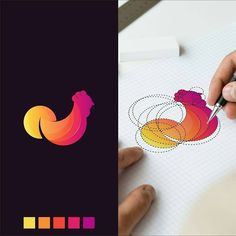 Fiverr freelancer will provide Logo Design services and make minimal logo design including # of Initial Concepts Included within 2 days Logo Branding, Branding Design, Rooster Logo, Feather Drawing, Logo Process, Minimal Logo Design, Photo Images, Great Logos, Logo Design Inspiration