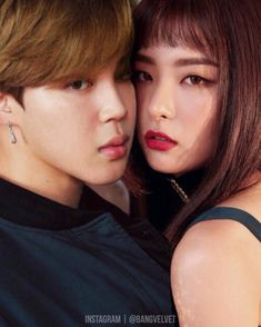 Once you SeulMin, you can't SeulMout. Here in SM, we got it all for you. — I was in a bad mood when I made this. I should've been more careful with Jimin's cheeks, though. I still need a lot of practice. - + no stealing, please. ask for permission if you want to use. » BangVelvet™ / @bangvelvet #btsvelvet #seulmin #polaristique #itnolcouple
