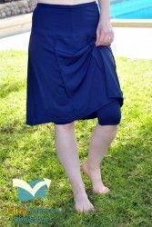 #Modest Swimwear - Chlorine Proof Long Swim Skirt