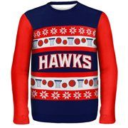 Atlanta Hawks Wordmark Ugly Sweater