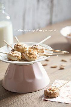 Almond filled swirls