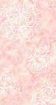 Blush pink white floral roses watercolour iphone wallpaper phone background lock…