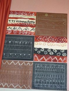 Graphismes et motifs des tissus africains gs maternelle - Motifs africains maternelle ...