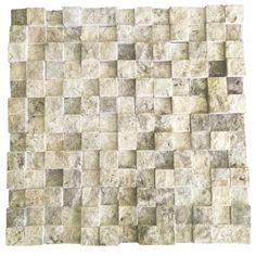3D Gümüş 2.5X2.5 Fileli Patlatma Taş  www.tasdekorcum.com #dekor #patlatmatas #mozaik #dogaltas#naturalstonemosaic #naturalstone  Natural Stone Mosaic Natural Stone Wall Natural Stone Mosaic Subway Wall Tile Fileli Patlatma Taş Doğal Taş Patlatma Mozaik