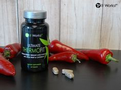 #ItTipTuesday: Ready to fire up your metabolism? Add the calorie-burning fuel of hot peppers with Ultimate ThermoFit! www.wrapswithmarian.com