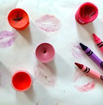 Crayon Lipstick - not sure how I feel about this. . .