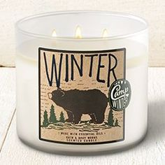 Winter - Camp Winter Collection    Bath & Body Works Candle #BathAndBodyWorks #Candle