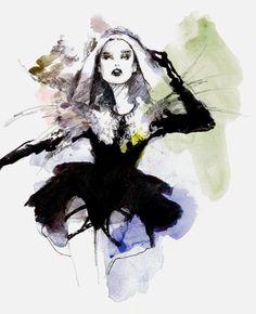 Ilustração de Myrtle Quillamor