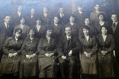 Munitionettes from the Woolwich Arsenal, WW1