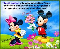 Micky Mouse Tanti Auguri Mio Amore - ツ Auguri di Buon Compleanno - Tanti Auguri a Te ツ