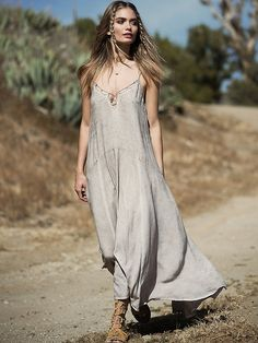 Free People Long Shadows Maxi, $129.95