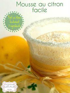 Mousse au citron facile : la recette facile