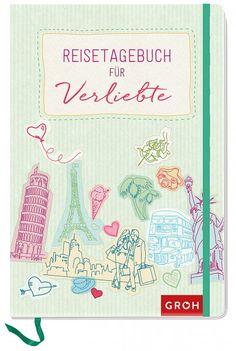 Reisetagebuch für Verliebte Bullet Journal, In Love, Marriage Anniversary, Travel Scrapbook