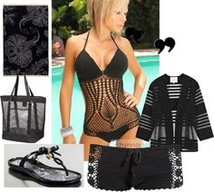 """""""Pool Party"""" by kyrie-akers-hubbard on Polyvore"""
