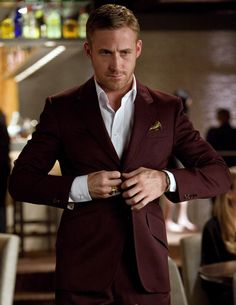 Love Ryan Gosling's style in Crazy Stupid Love.