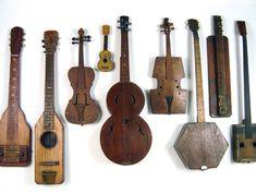 ..folk instruments...