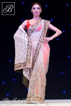 Manish Malhotra gorgeous designer saree