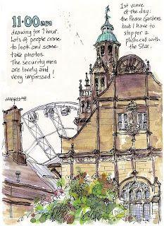 Urban Sketchers: Lynne Chapman travel sketch