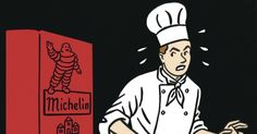 Undercover with a Michelin inspector.