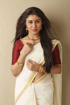 Actreess-Meghali-in-kerala-saree