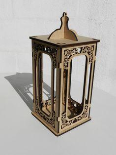 lanterna cachepô de flores med mdf 35-a x 15.5-l x 15.5-c me