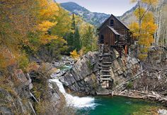 This is a beautiful spot for photography during fall.. Crystal Mill, Colorado.