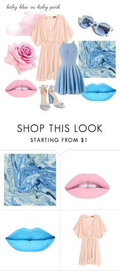 """Baby blue or baby pink? Nowości od Indigo Nails by Natalia Siwiec."" by sweetlittlebunny on Polyvore featuring moda i Pinko"