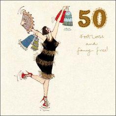 Woodmansterne In Stitches 50th Birthday card 270529