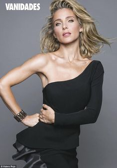 What's her secret? Elsa Pataky, 40, showed off her toned arms and flawless complexion as s...