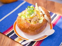 Get this all-star, easy-to-follow Slow-Cooker Buffalo Chicken Chili recipe from Katie Lee