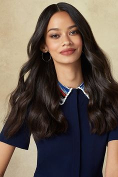 4 Hairstyles You Can ACTUALLY Do Yourself #refinery29  http://www.refinery29.com/professional-hairstyles-at-home#slide-12  Finally, take a natural-bristle brush and loosely work it through your waves to soften them. Then, use your fingers to tousle and define each wave until you're satisfied with the texture. And finally, don't be concerned if you get mistaken for a model....
