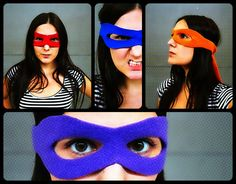 Picture of Superhero mask tutorial + pattern