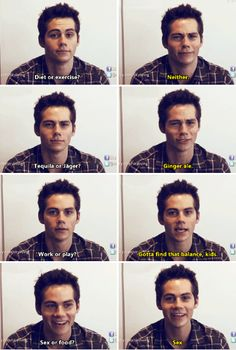 Dylan O´Brien << this was my favorite interview when it first came out