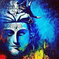 Beautiful Paint Of Lord Shiva... #lordshiva #hindu #god