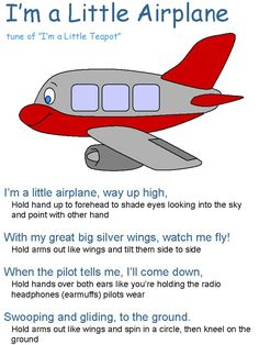 IFO theme for preschool (planes, kites, helicopters and hot air balloons)