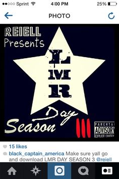 Make sure you listen and download LMR day season 3 on dat piff I'm on that tape 187'n shit