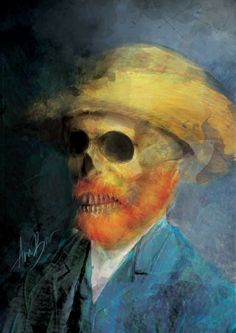 Art by Ana Bracic - Obsessed With Skulls