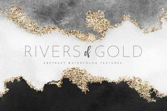 Watercolor Texture Gold Foil by Belliaroze on Creative Market - - Watercolor Texture, Abstract Watercolor, Watercolor And Ink, Web Design, Logo Design, Graphic Design, Gold Texture, Texture Art, Business Card Logo