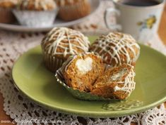 Scientifically Sweet: Cream Cheese-Filled Carrot Muffins
