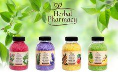 Ingredientele naturale din sarea de baie de la Herbal Pharmacy  fac ca momentul tau de relaxare sa fie un moment plin de prospetime Shampoo, Water Bottle, Cosmetics, Products, Beauty Products, Drugstore Makeup