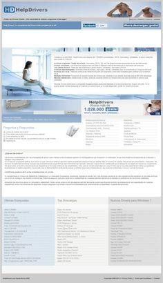 Creada en el año 2000, HelpDrivers.com dispone de 1.028.000 controladores, BIOS, manuales y utilidades, la mayor colección que existe en Internet.