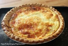 Quiche – Easy to remember 3 – 2- 1 | How to Love Your Home