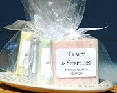 25 Custom Soap Favors French Wedding Favors / by DancingMooney